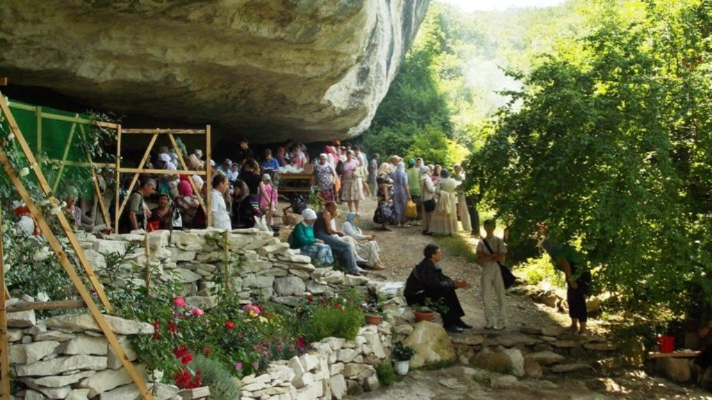 Июнь 2011 престольный праздник в монастыре Феодора Стратилата