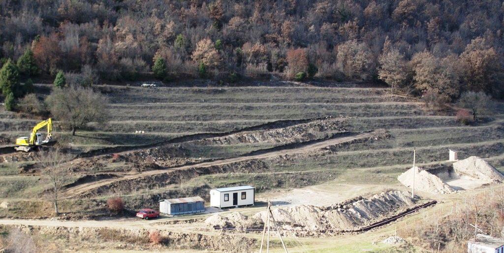 Ноябрь 2011. Начало строительных работ на монастырском подворье