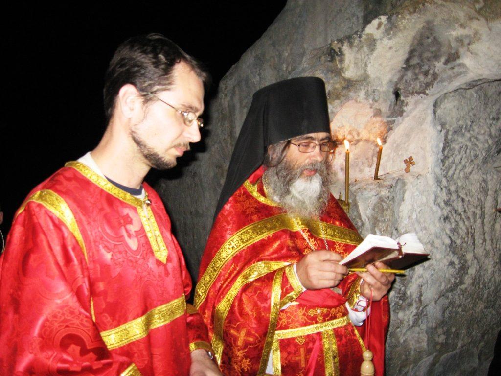Водосвятный молебен. Пасха. 2009 год