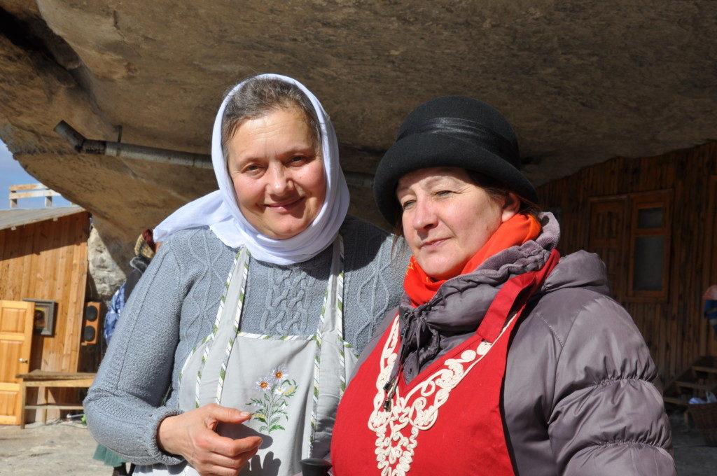 Прихожанки Галина и Людмила